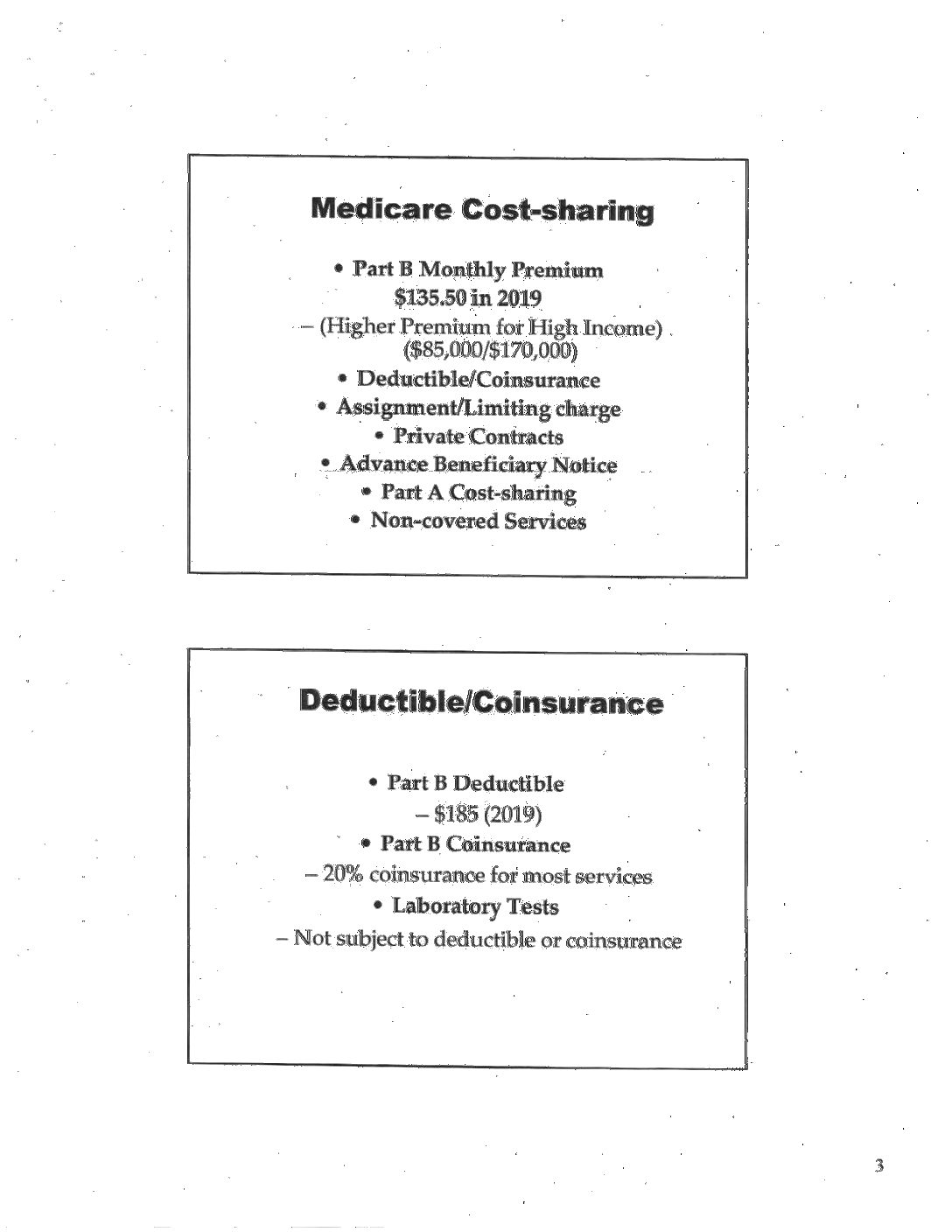 Medicare Reminders – CSA Retiree Chapter